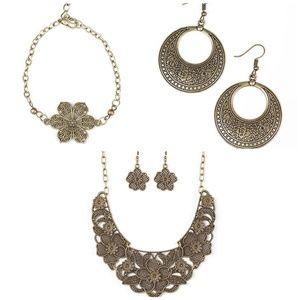 4 piece jewelry bundle